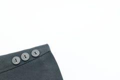 Black suit sleeve. Stock Photo