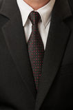 Black suit and tie Stock Images