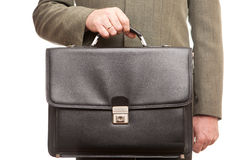 Black suitcase Royalty Free Stock Photos