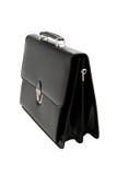 Black suitcase - isolated Stock Photography