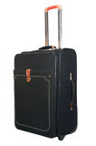 Black suitcase for trips and rest Royalty Free Stock Image