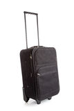 A black suitcase with wheels Royalty Free Stock Photo