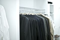 Black Suits Royalty Free Stock Photography