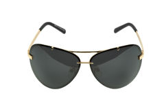 Black sunglasses Stock Images