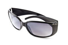 Black sunglasses. Isolated on the white background Royalty Free Stock Photo