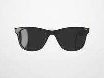 Black Sunglasses on bright Background Royalty Free Stock Photography