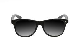 Black sunglasses close up. Royalty Free Stock Images