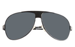 Black sunglasses with gray glasses. Royalty Free Stock Images