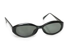 Black sunglasses isolated Royalty Free Stock Image