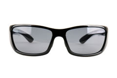 Black sunglasses isolated on white background Stock Images