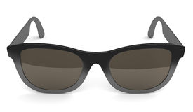 Black sunglasses isolated on white Stock Photography