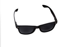 Black sunglasses. Isolated on a white background Royalty Free Stock Images