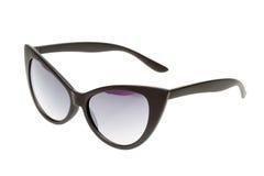 Black sunglasses isolated on white Royalty Free Stock Image
