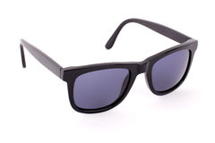 Black sunglasses isolated on a white background Royalty Free Stock Photography