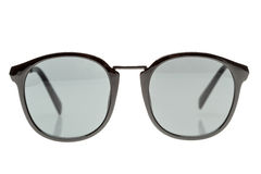 Black sunglasses  on white Royalty Free Stock Images
