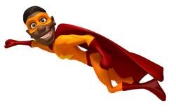 Black superhero Stock Photography