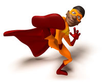 Black superhero Stock Photography