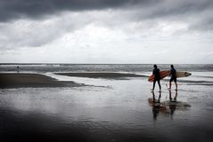 Black surf Stock Photos