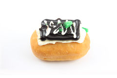 Black Sushi Donuts. Black Sushi Donuts on a white background royalty free stock photos