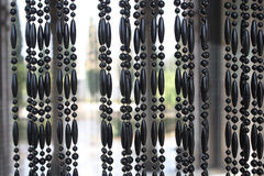 Black Suspension Brackets. Photo Of Black Suspension Brackets On An Input In A Mosque Stock Photography