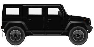 Black SUV Car Royalty Free Stock Photography