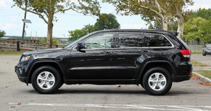 Black SUV Stock Photography