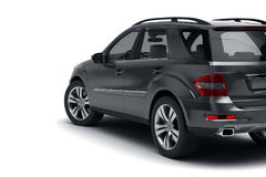 Black SUV stock photo