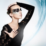 Black swan Royalty Free Stock Images