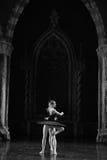 The black swan, Aggie Liya-ballet Swan Lake Royalty Free Stock Photos