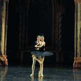 The black swan, Aggie Liya-ballet Swan Lake Stock Photo