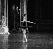 The black swan, Aggie Liya-ballet Swan Lake. In December 20, 2014, Russia's St Petersburg Ballet Theater in Jiangxi Nanchang performing ballet Swan Lake Royalty Free Stock Photo