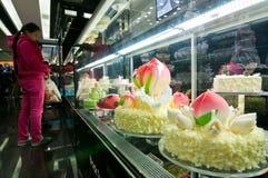 Black Swan Luxury Cake Stock Photography