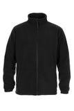 Black sweatshirt fleece for man. Isolated on white background Royalty Free Stock Image