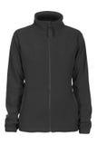 Black sweatshirt fleece for woman. Isolated on white background Royalty Free Stock Photography
