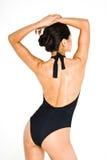 Black swim suit Stock Photo