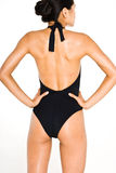 Black swim suit Stock Photography