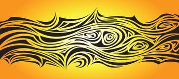 Black Swirls Stock Photo