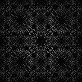 Black swirls pattern Stock Photo