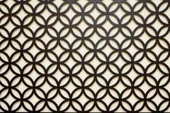 Black symmetrical  arabic style  background Stock Images