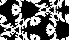 Black Symmetrical Triangular Shapes Royalty Free Stock Photos