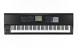 Black Synthesizer Stock Photography