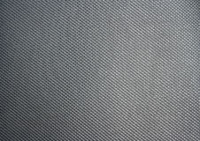 Black Synthetic leather. Closeup black Synthetic leather texture Stock Photography