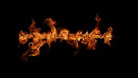 black tła ogień płonący w dobrych głównych miękkiego atrakcj pionowe Fotografia Royalty Free