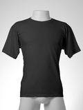 Black t-shirt Royalty Free Stock Image