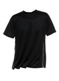 Black T-Shirt for Men Stock Images