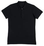 Black T-shirt polo royalty free stock image