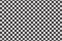 Black tablecloth diagonal background seamless pattern Royalty Free Stock Photography