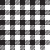 Black tablecloth seamless pattern Stock Photography