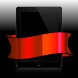 Black tablet Royalty Free Stock Photography