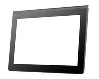 Black tablet computer Royalty Free Stock Images